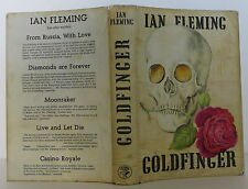 IAN FLEMING Goldfinger FIRST EDITION