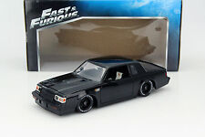 Dom's Buick Grand National Fast and Furious noir 1:18 Jada Toys
