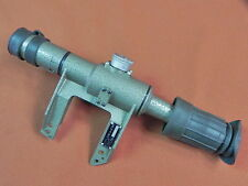 Vintage Romanian Romania Rifle Sniper Scope