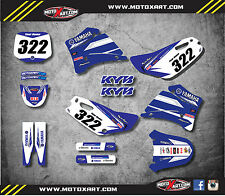 Full Custom Graphic Kit Yamaha TTR 125  2000 - 2007 PREMIERE STYLE stickers