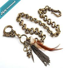 Guntwo Korean Mens Fashion Wallet Chains - Biker Skull Head Jean Chain C2225 US