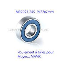 9X22X7 2297 2RS (1pc) ROULEMENT A BILLES KANZEN pour MAVIC MOYEU ARRIERE HUB