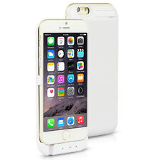 10000mAh PowerBank WHITE Rechargeable Protective Battery Case iPhone 6+ 6s Plus