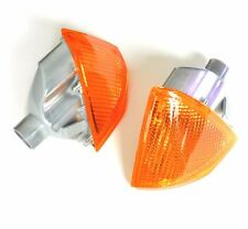 CITROEN AX 1986-1996 PAIR FRONT INDICATOR AMBER NEW OE: 95643741 / 95643742