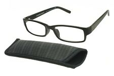 Foster grant reading glasses Derick +2.00 With Free matching Case