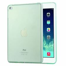 Clear Transparent Soft TPU Silicone Shockproof Back Case For Apple iPad Mini 4