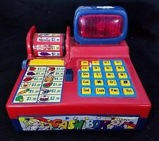 Cash Box Electronic Kids Cash Register Toys Lights and Sound