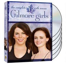 Gilmore Girls: The Complete Sixth Season 6 Six (DVD, 2013, 6-Disc Set) - NEW!!