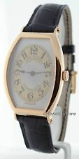 Patek Philippe 5098 Gondolo 18K Rose Gold Mens Wrist Watch Box/Papers 5098R NOS