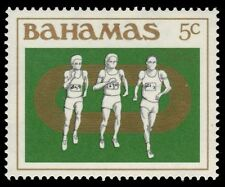 """BAHAMAS 559 (SG679) - Los Angeles Olympic Games """"Runners"""" (pf28664)"""