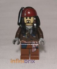 Lego Captain Jack Sparrow Voodoo Pirates of the Caribbean BRAND NEW poc029
