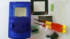 HOUSING POUR GAMEBOY COLOR MARIO CLEAR BLUE NEW