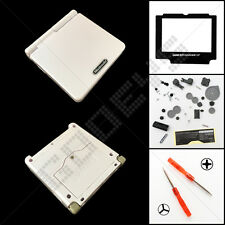 New Pearl White Nintendo Game Boy Advance SP GBA Casing/Case/Shell/Housing Kit