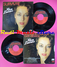 LP 45 7'' ROSE LAURENS Survivre Ballade autour d'un cafe viennois no cd mc dvd