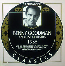 CD BENNY GOODMAN - 1938, Chronogical Classics