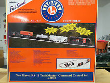 Lionel Rare New Haven RS-11 TrainMaster Command Control Set , 6-31905 , New C-9+