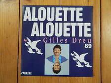 """Gilles Dreu Alouette CARRERE 7"""" / 14.635 RAR!"""
