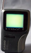 CASIO TV-1750B LCD Handheld Color Television TV Portable WORKS
