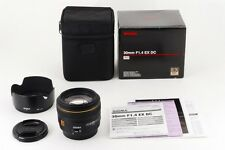 TOP MINT Sigma 30mm f1.4 EX DC HSM Lens for Canon SLR EF Mount from Japan a285