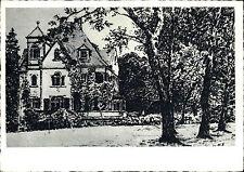 BLITZENROD Hessen Gebäude ältere Künstlerkarte Bedarfspost gelaufen gebraucht