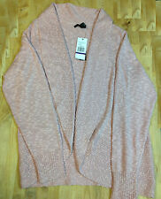 Kenneth Cole York Womens Shawl Cardigan Sweater, Rosset, Size 2XL.