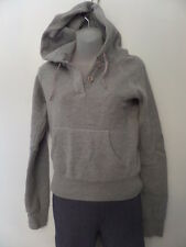 ABERCROMBIE&FITCH Women's Sweaters Size-S Gray Hoodies Very Good!