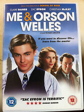 Zac Efron Imogen Poots ME AND ORSON WELLES Richard Linklater Drama RU DVD