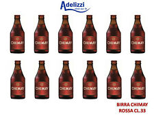 BIRRE CHIMAY RED CL. 33 BIRRA TRAPPISTA BELGA DOPPIO MALTO ROSSA 12 BOTTIGLIE