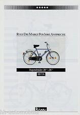 """Prospetto Rixe BETA jugendrad 20"""" -26"""" BICICLETTA 1984 BICICLETTA prospetto brochure BIKE"""