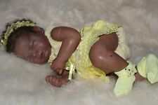 Aa, ethnic or biracial reborn doll