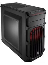 Corsair Carbide SPEC - 03 Media Torre de LED Rojo Acero Gaming USB 3.0 con ventana lateral