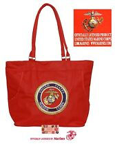 EMBROIDERED USMC US MARINES CORP SEAL HeavyDuty TOTE BAG-Beach Travel Shopping*R