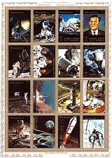 AJMAN  Conquete de l'espace ,satellites,cosmonautes,lancement, divers SP23