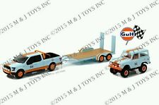 GL HITCH & TOW GULF 2015 FORD F-150 & 1966 BRONCO WITH TRAILER IN STOCK!
