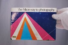 Camera The Nikon Way to Photography Guide (EN) 7209033 vintage F3