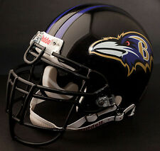 RAY LEWIS Edition BALTIMORE RAVENS Riddell REPLICA Football Helmet NFL