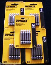 "25 DEWALT 2"" PHILLIPS #2 SCREW BITS DRIVER PH2 P2 FITS 18V 20V IMPACT DW2115"