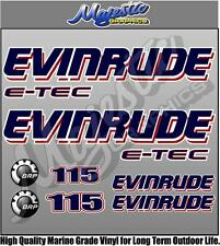 EVINRUDE 115 ETEC - OUTBOARD DECALS