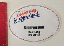 Aufkleber/Sticker: Lekkerweg In Eigen Land - Omniversum - Den Haag (04061633)