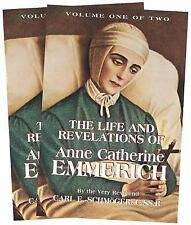 LIFE AND REVELATIONS OF ANNE CATHERINE EMMERICH - NEW PAPERBACK BOOK