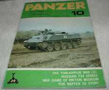 Panzer Magazine 39 78/10 IDF Yom-Kippur War Russian T34/76 GB Wheeled Vehicles