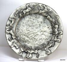 Douwe Blumberg Pewter Plated Bronze Plate