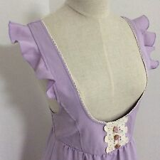 LIZ LISA Jumper Dress Kawaii Japanese fashion Light Purple Lavender