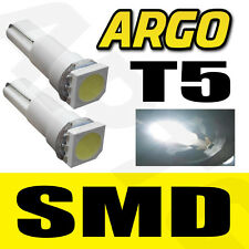 T5 286 LED SMD WHITE DASHBOARD LIGHT BULBS XENON HID 12V LAMP  DIALS WEDGE CAR