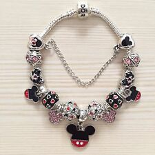 Disney Mickey Mouse Pandora Charm Bracelet & Charms Ideal Christmas Gift