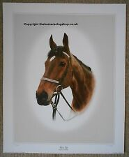 West Tip Limited Edition Horse Racing Picture Grand National Richard Dunwoody