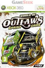 WORLD OF OUTLAWS - SPRINT CARS - XBOX 360 BRAND NEW FREE DELIVERY