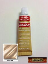 M00196 MOREZMORE Fresh Amaco Rub 'n Buff GOLD LEAF Wax Metallic UC T20