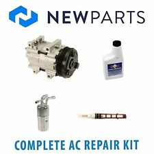 Complete AC A/C Repair Kit With NEW Compressor & Clutch Fits Ford Ranger 1995