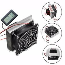 Peltier Refrigeration Semiconductor Thermoelectric Cooler Cooling System Fan Kit
